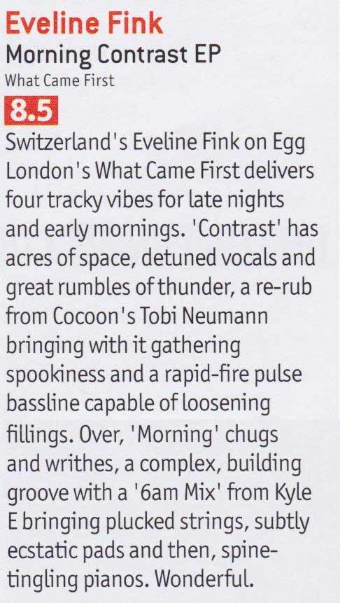 Review printed DJ Mag UK