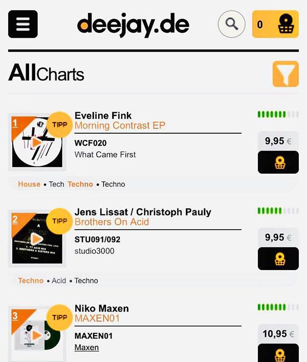 deejay.de charts vinyl